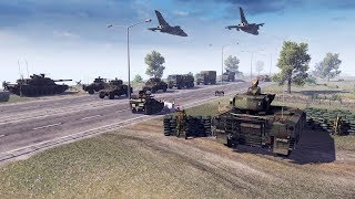Germany INVADED by RUSSIAN ARMY US & German Last Stand Defense | Call to Arms Gameplay
