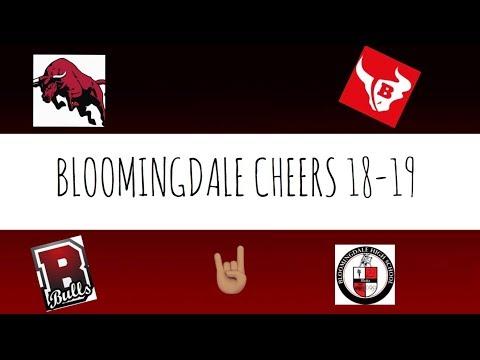 BLOOMINGDALE HIGH SCHOOL CHEERS 18-19!!!