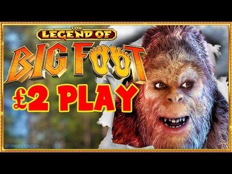 Bigfoot FOBT Slot £2 spins