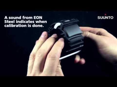 "Dive Imports Australia - Suunto EON Steel ""How to calibrate compass"""