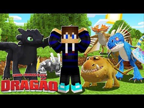minecraft:-novos-dragÕes-!!!---como-treinar-o-seu-dragÃo-#06-‹-bruninho-›