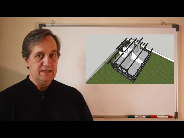 Первый шаг к строительству фахверкового дома Ч.1