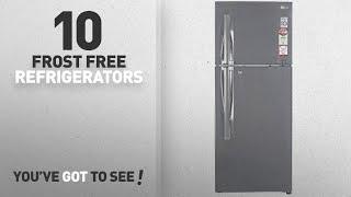 Top 10 Frost Free - Refrigerators: LG 260 L 4 Star Frost-Free Double Door Refrigerator (GL-I292RPZL,