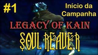 Início da campanha - LEGACY OF KAIN: SOUL REAVER (PC Gameplay PT-BR)