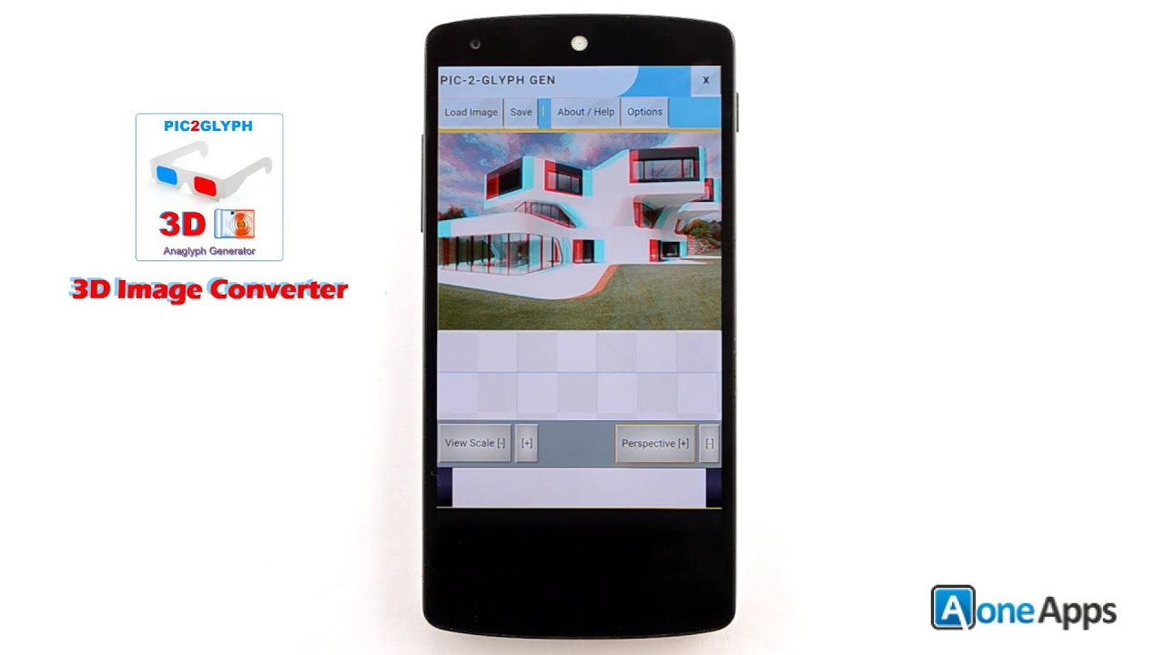 Convert 2d image to 3d image with android app 3d image converter youtube premium malvernweather Images