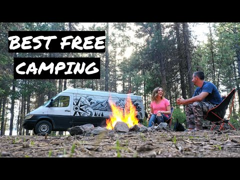 3 Best Free Camping Near Bend Oregon #VANLIFE | FnA Van Life