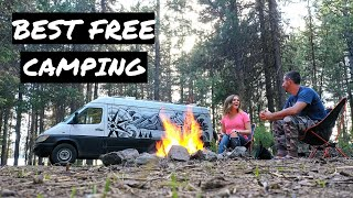 3 Best Free Camṗing Near Bend Oregon #VANLIFE | FnA Van Life