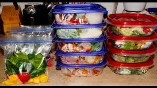 Meal Prep: Lunch and Smoothies