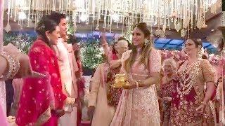 LIVE Inside Video of Mukesh Ambani's Son Akash Ambani's WEDDING Ceremony With Shloka Mehta