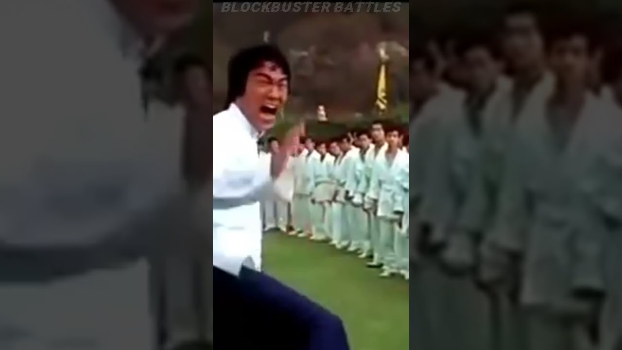 Bruce Lee Real Fight Scene 😱😮🔥 Bruce Lee Martial Arts Action #shorts