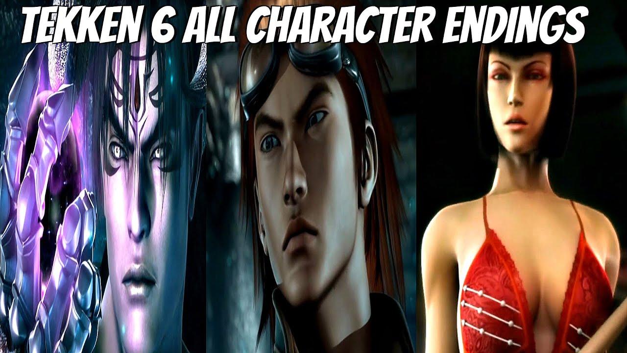 Tekken 6 all character endings 1080p full hd 60fps youtube voltagebd Gallery