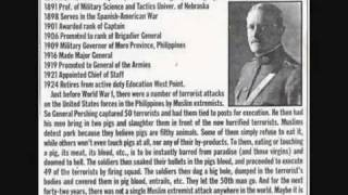 The Solution of Islamic Terrorism - Black Jack Pershing.flv