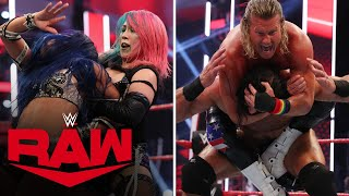 McIntyre & Asuka vs. Ziggler & Banks - Champions vs. Challengers Match: Raw, June 29, 2020