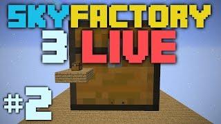 SkyFactory 3 LIVE [2] Automation GO!