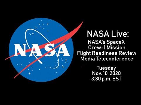 NASA Live: NASA's SpaceX Crew-1 Mission - Flight Readiness Review Media Telecon (Nov. 10, 2020)