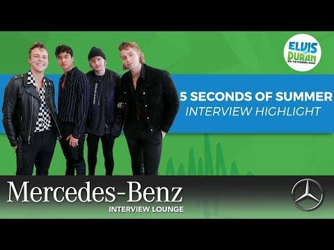 5 Seconds of Summer on the Backstreet Boys Being an Inspiration | Elvis Duran Interview Highlight