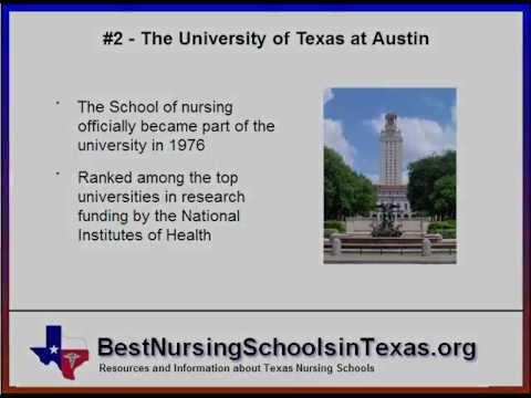 Best Nursing Schools In Texas | The Top Ranked TX Nursing Programs
