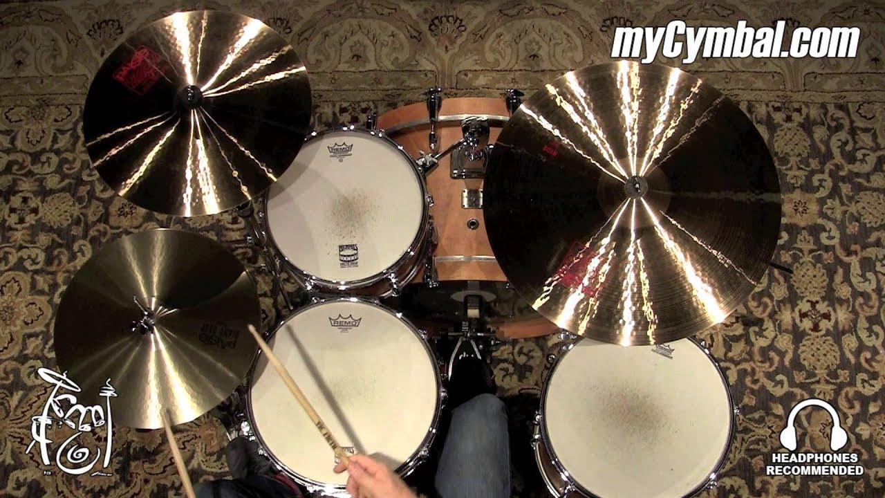 Paiste 15 Giant Beat Hi Hat Cymbals