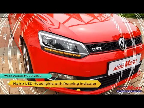 POLO 2018 with MATRIX HEADLAMPS & LED TAIL LAMPS by AUTOMARC - INDIA