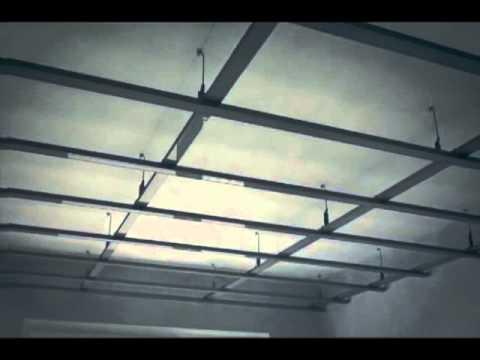видео: knauf технология гипсокартонного потолка