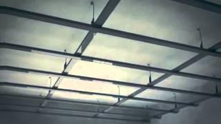 Устройство потолка из гипсокартона: технология монтажа подвесной конструкции, видео и фото