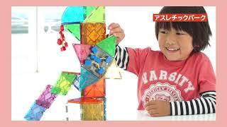ピタゴラス~1歳から小学生まで遊べる磁石のブロック~