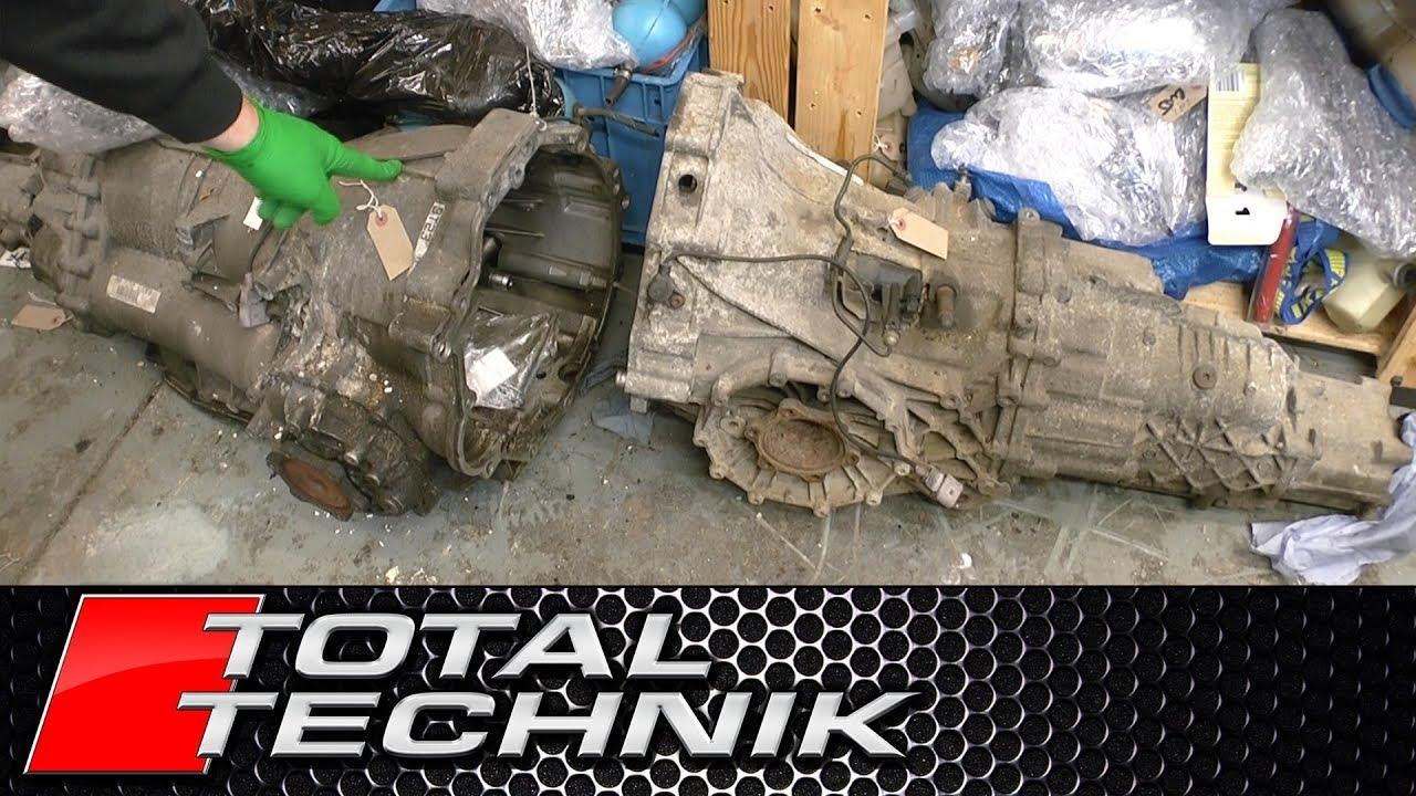 Audi S4 Manual vs Automatic Gearbox Physical Comparison - B6 B7 - 2003-2008  - TOTAL TECHNIK