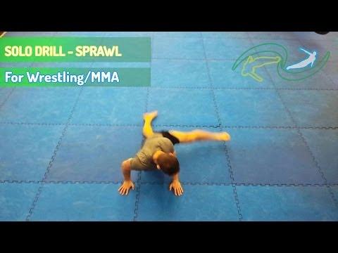 Sprawl Solo Drill - Wrestling for MMA