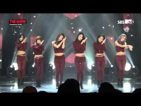 140916 T ara 티아라   I Don't Want You & Sugar Free @ The Show Comeback Stage