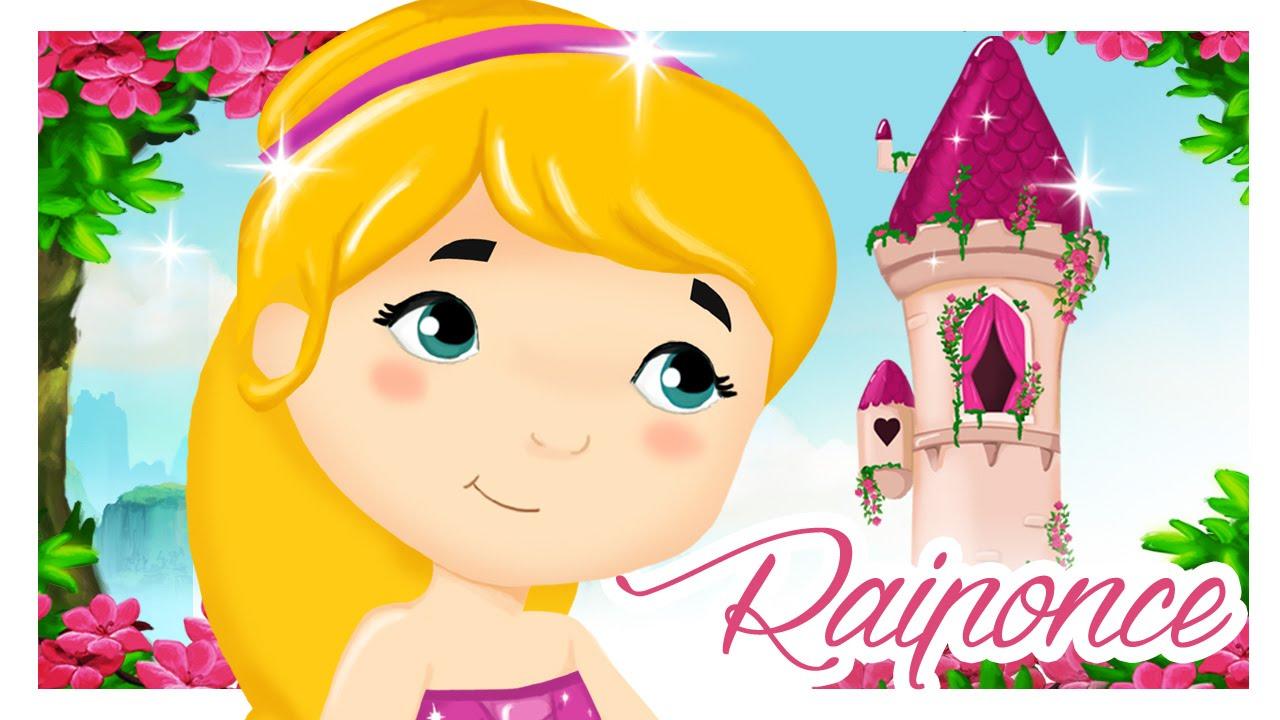 Raiponce petit chaperon rouge contes en dessin anim pour les enfants titounis youtube - Pony dessin anime ...