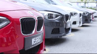 BMW 1 Series Test-Drive Roadshow 2014.