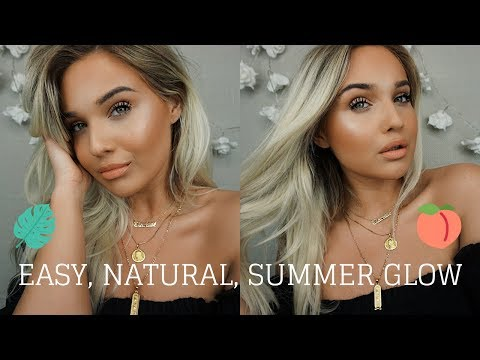 FIRST EVER VIDEO - EASY, NATURAL, SUMMER GLOW | Clarisse Morieux