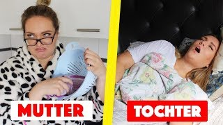 Abendroutine Mutter VS. Tochter | Annaxo