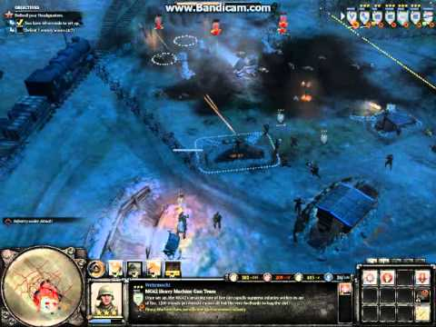 Company of Heroes 2, Schildkroteberg All Waves on General Difficulty (no cheating)