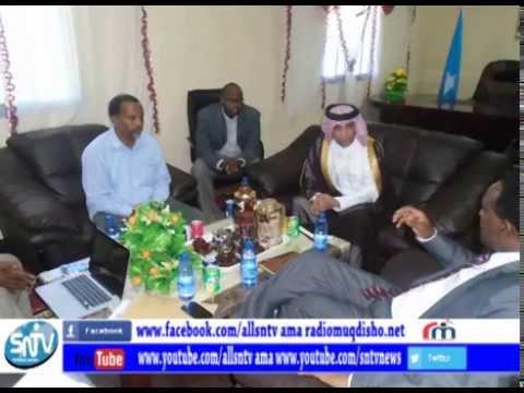 Dowladda Qatar oo gacan ka geysanaysa dib u dhiska Madxafka Qaranka.