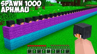 You CAN SPAWN 1000 APHMAU AT ONCE in Minecraft ! HOW TO SUMMON APHMAU ARMY !