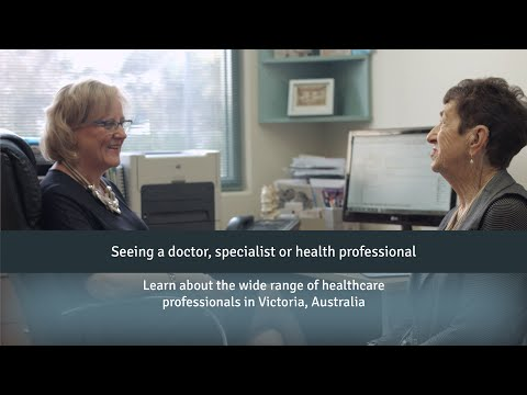 Guide to seeing a doctor, specialist or health professional