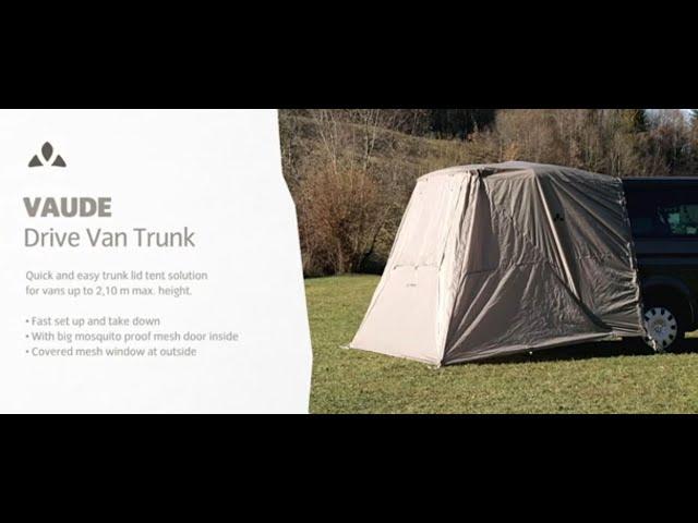Instruction Manual Drive Van Trunk   VAUDE