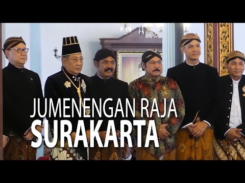 NET JATENG - JUMENENGAN RAJA SURAKARTA