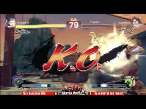 Battle Medley Singapore 2011 - SSF4AE 3v3 Archive - feat. EG Momochi, EG Choco Blanka, Xian
