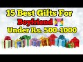 15 Best Gifts 🎁 For Boyfriend 👫 India | Gifts for Bf