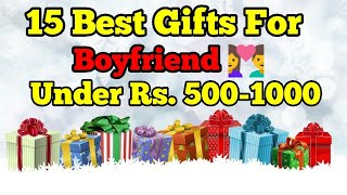 15 Best Gifts For Boyfriend India | Gifts For Bf