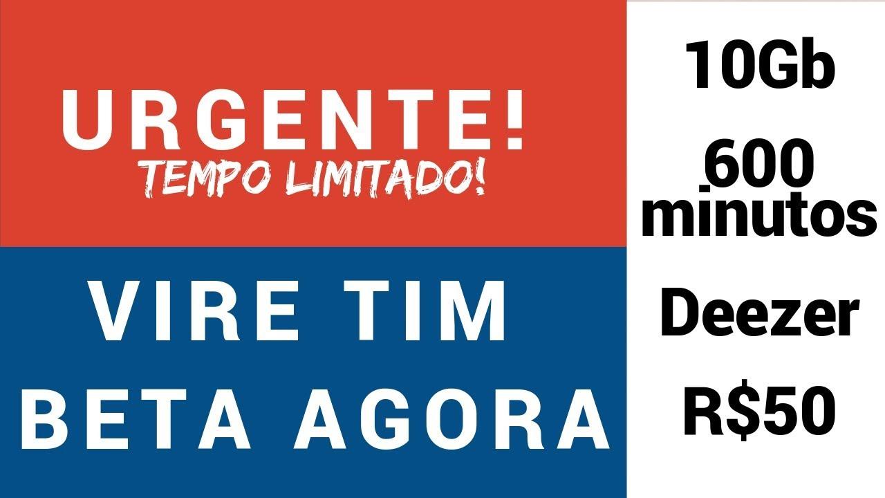 Convite Tim Beta De Graça Tempo Limitado Youtube