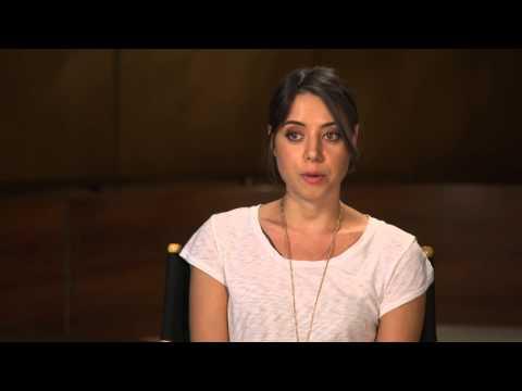 Welcome To Sweden: Aubrey Plaza  Behind the Scenes TV Interview