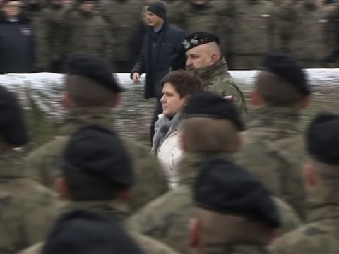 Poland Welcomes 3500 US Troops