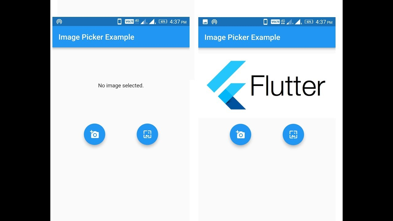 Image Picker In Flutter || Amazevalley – Amazevalley