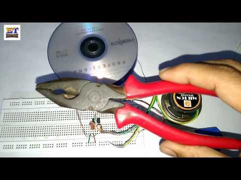 Simple Metal detector using 555 IC