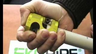 видео Зачистка для труб