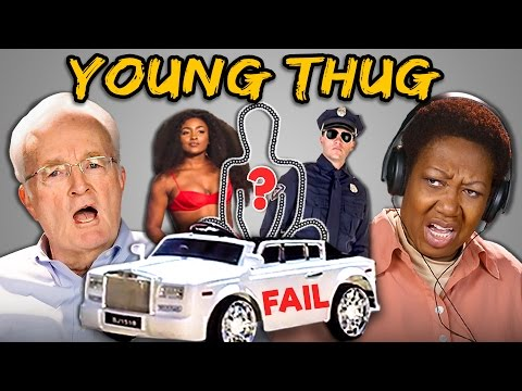 ELDERS REACT TO YOUNG THUG'S $100,000 FAILED MUSIC VIDEO (Wyclef Jean)