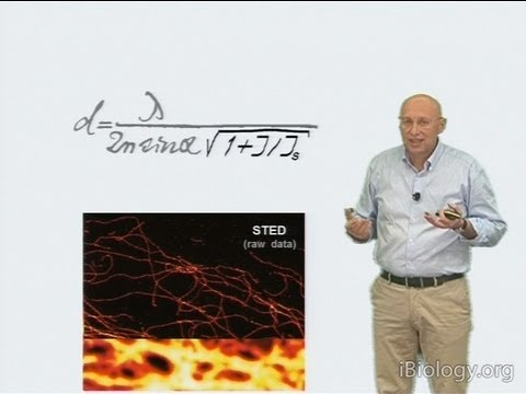 Microscopy: Super-Resolution: Overview and Stimulated Emission Depletion (STED) (Stefan Hell)